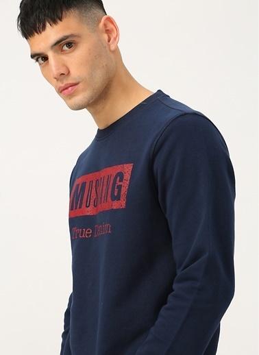 Mustang Sweatshirt Lacivert